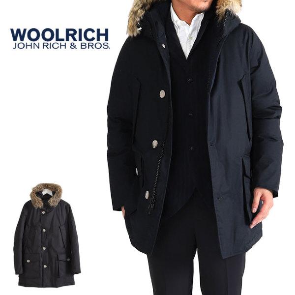 【一部予約商品】<br>Woolrich ウールリッチ ファー付き ラミネーテッドコットンパーカー HC ダウンジャケット MWOCPS2724