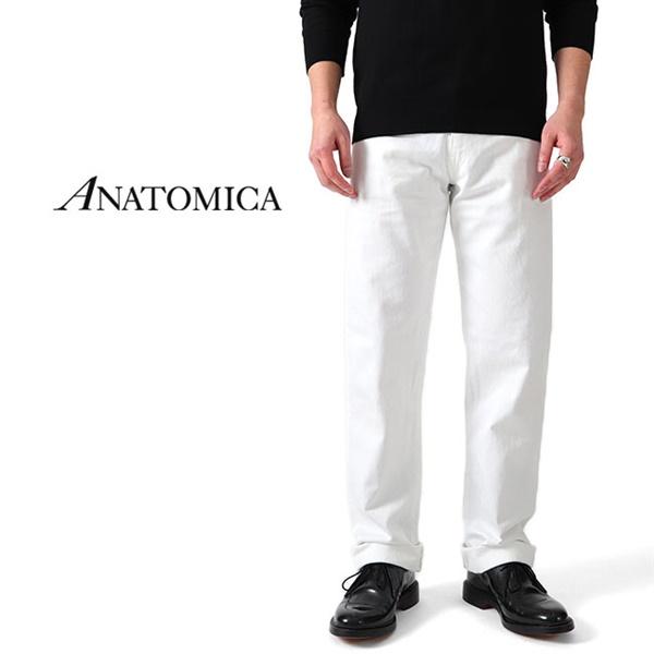 ANATOMICA アナトミカ リーン ホワイトジーンズ デニムパンツ 618 LEAN 530-541-22