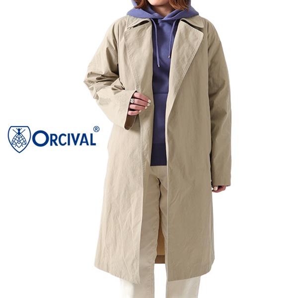 ORCIVAL オーシバル ボタンレス チェスターコート RC-8056 NYX
