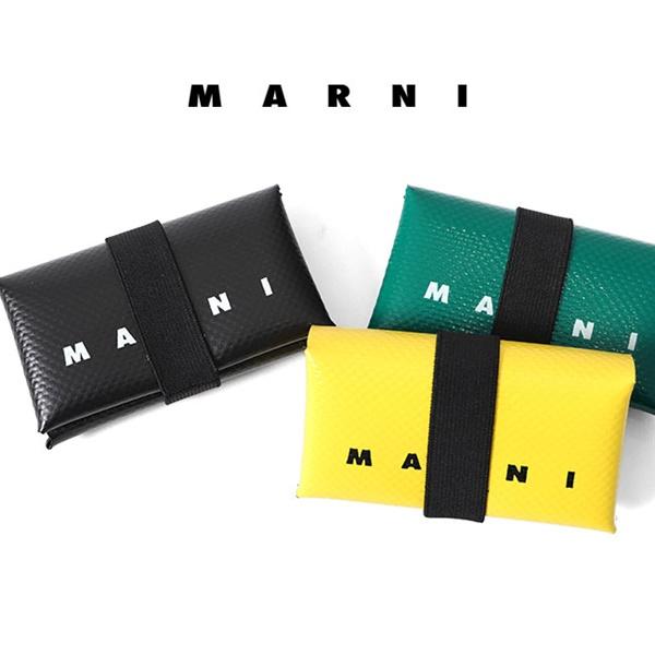 MARNI マルニ バンド PVC コイン&カードケース PFMI0007U0 P2382