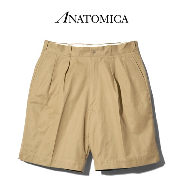 ANATOMICA アナトミカ チノショーツ CHINO SHORTS 1959 530-551-07