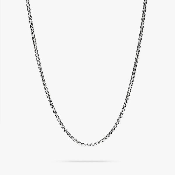 TOMWOOD トムウッド チェーン ネックレス シルバー Venetian Chain Single S
