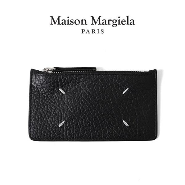 Maison Margiela メゾンマルジェラ グレインレザー カードホルダー パース コインケース S56UI0143 P0399