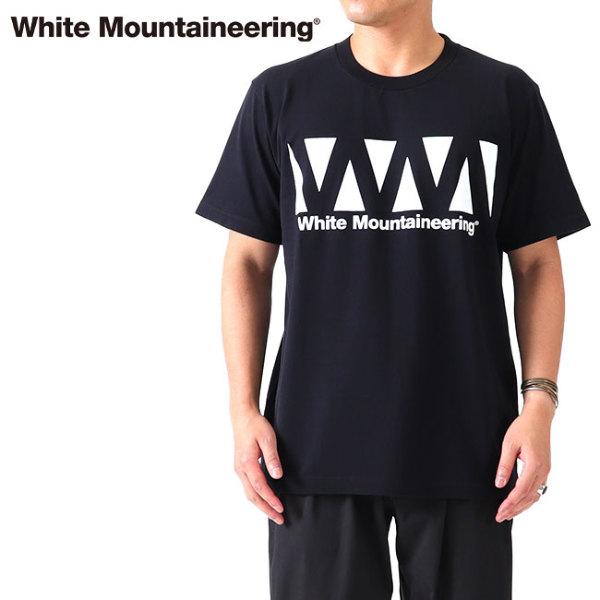 White Mountaineering ホワイトマウンテニアリング グラフィックロゴ Tシャツ RW2171502