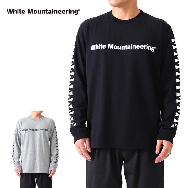 White Mountaineering ホワイトマウンテニアリング 袖ロゴ ロンT RW2171503