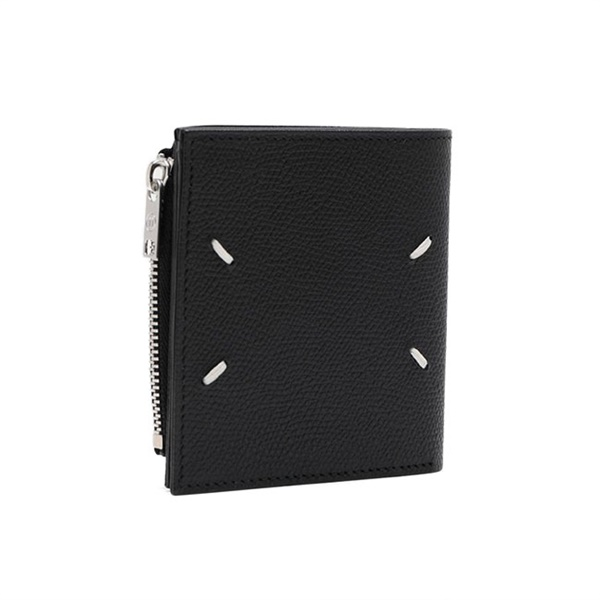 Maison Margiela メゾンマルジェラ グレインレザー 二つ折り財布 S35UI0438 P0399 T8013