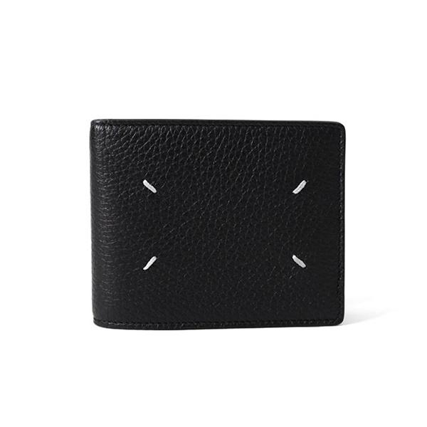 Maison Margiela メゾンマルジェラ グレインレザー 二つ折り 財布 S55UI0294 P2686
