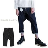 FUMITO GANRYU フミトガンリュウ デニム サルエルパンツ FU4-PA-02