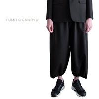 FUMITO GANRYU フミトガンリュウ イージースラックス サルエルパンツ FU4-PA-10