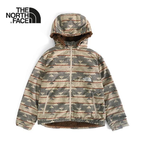 THE NORTH FACE ザ ノースフェイス 総柄 フード付き ノベルティーコンパクトノマドジャケット NPJ71857