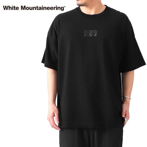 White Mountaineering ホワイトマウンテニアリング オーバーサイズ ロゴ Tシャツ WM2171521