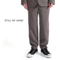 STILL BY HAND スティルバイハンド ウール セットアップパンツ PT0384