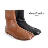 Maison Margiela メゾンマルジェラ アンクル レザー タビブーツ