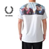 FRED PERRY × RAF SIMONS フレッドペリー ラフシモンズ バックフォトプリント オーバーサイズ Tシャツ SM8135