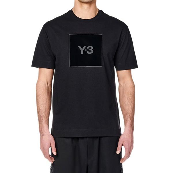 [予約商品] Y-3 ワイスリー スクエアラベルロゴ Tシャツ HB3332